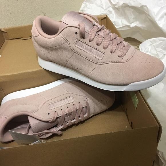 1da8336dc86 new reebok eb princess pink suede shoes